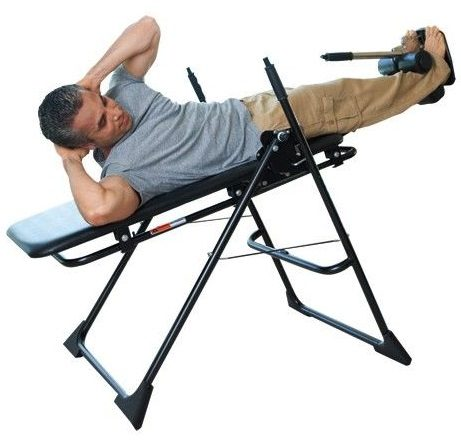 Inversion Table Man on it